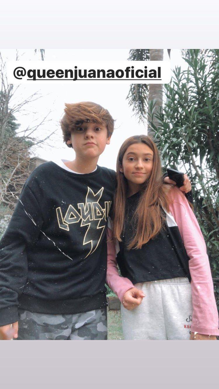 Bautista Vicuña compartió la primera foto con su novia