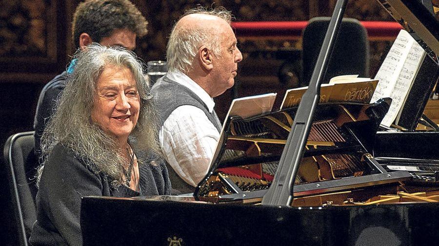 Martha Argerich y Daniel Barenboim 20200724
