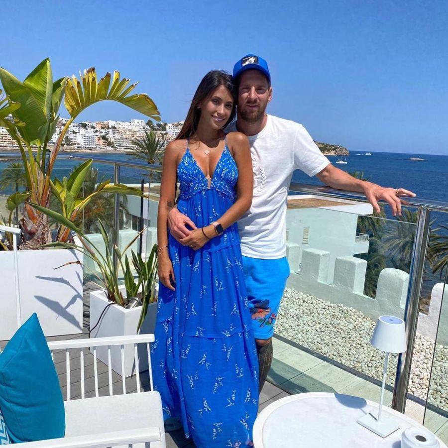 Lionel Messi y Antonella Roccuzzo mostraron más detalles de sus paradisíacas vacaciones