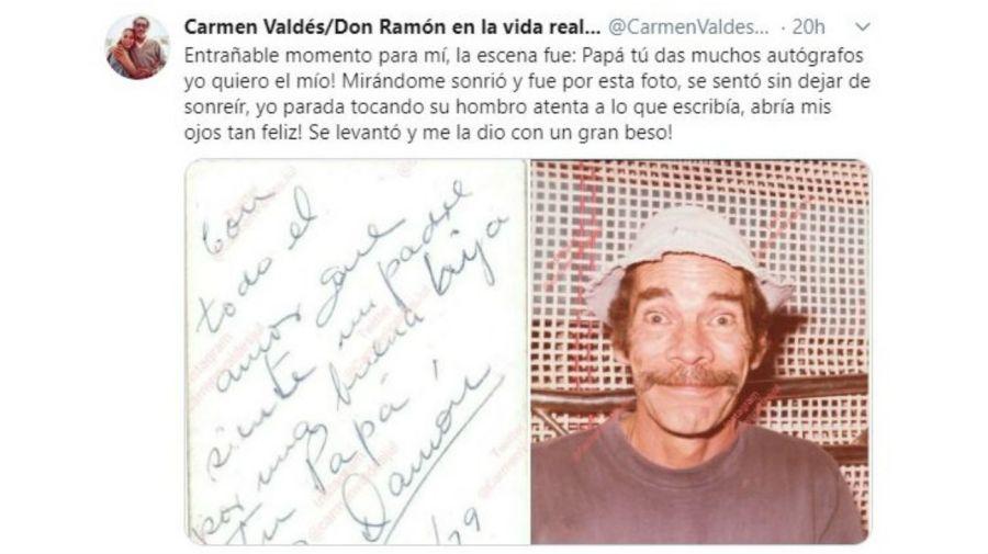 Don Ramón y el emotivo recuerdo de su hija