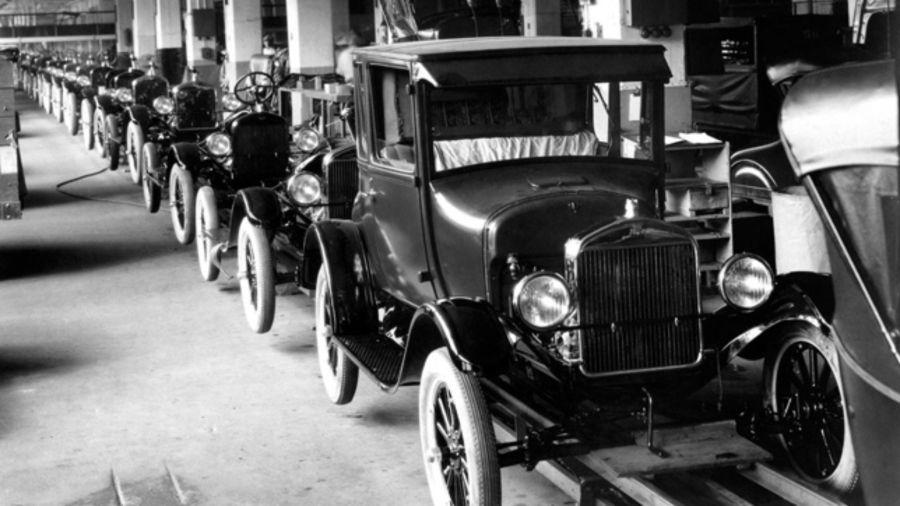 Henry Ford y Alberto Fernández