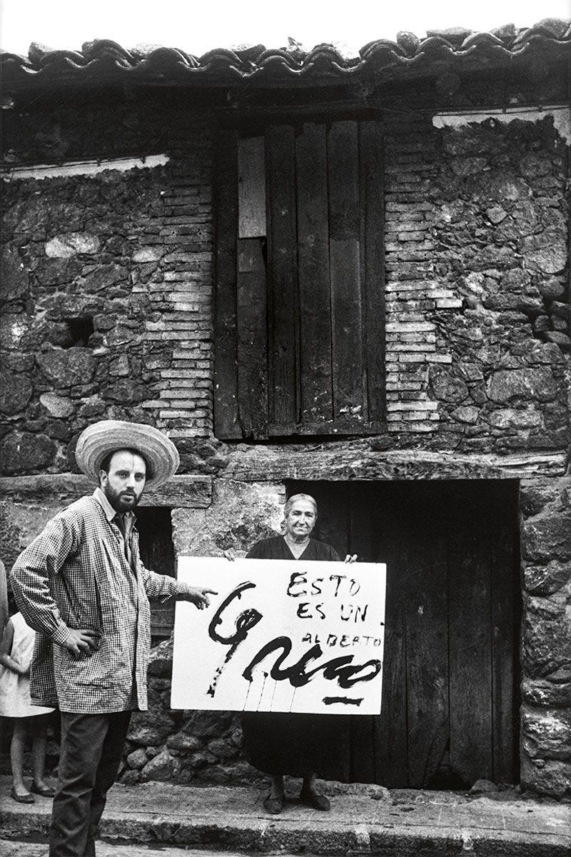 """""""Alberto Greco en Piedralaves"""". 1963."""