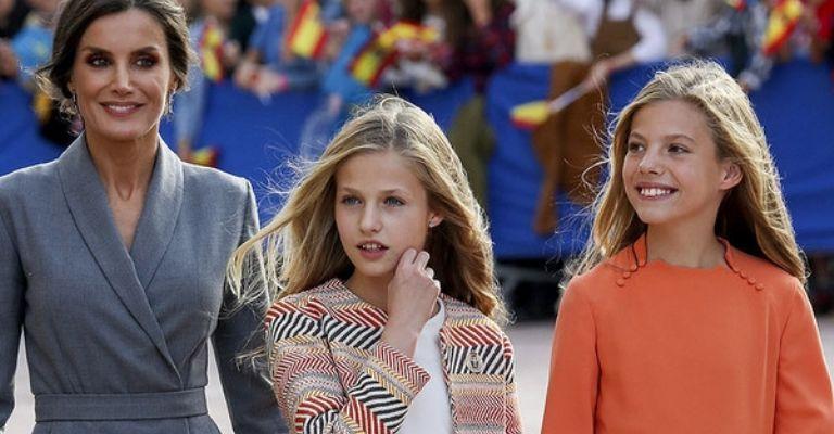 Se filtraron los motivos de las constante peleas de la Princesa Leonor con su hermana la Infanta Sofía