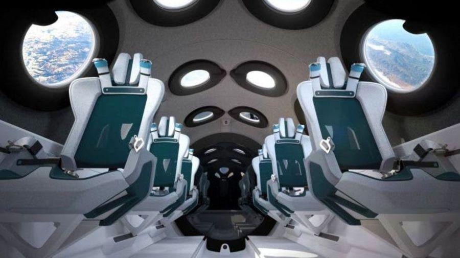 Virgin Galactic muestra por dentro la nave que llevará turistas al espacio