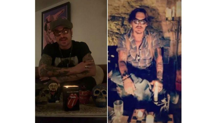 Daniel Osvaldo - Johnny Depp