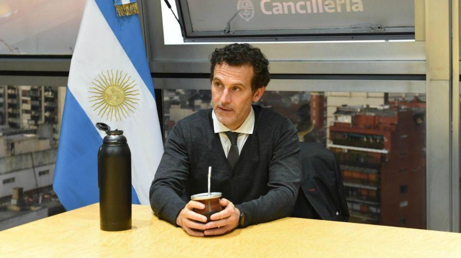El jefe de Gabinete de la Cancillería, Guillermo Justo Chaves.