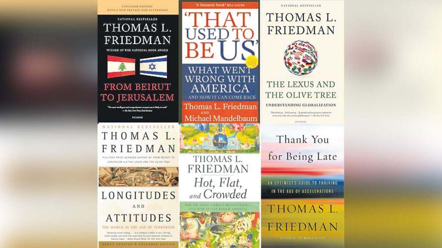 """No solo se necesita una vacuna, se necesita reiniciar todo"""", dice Friedman, autor imparable, con una capacidad de comunicación que le permitió ser autor de varios libros que marcaron las últimas dos décadas."""