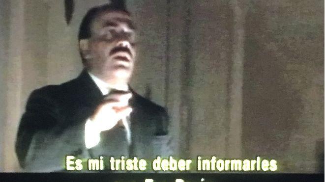Gabriel Kraisman, en una escena de