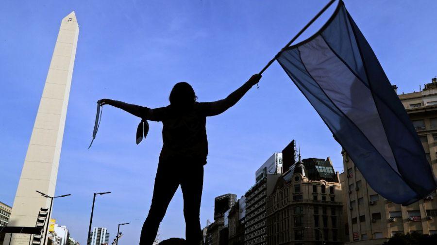 obelisk argentina judicial reform protest banderazo