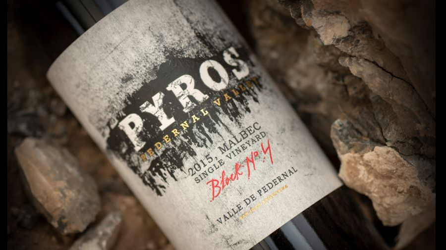 Pyros Single Vineyard Block N°4 Malbec 2015, premiado