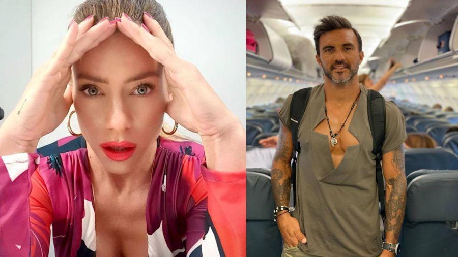 Revelan la picante charla entre Cubero y Nicole Neumann tras confirmar que tiene COVID