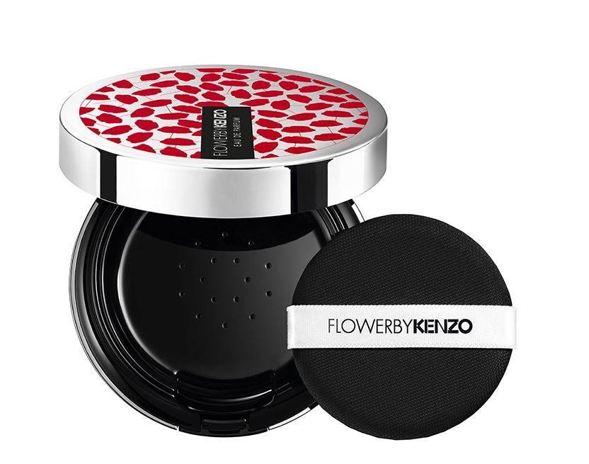 Kenzo: el perfume que simula ser una polvera de maquillaje