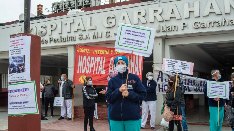 medicos reclamo hospital garrahan g_20200806