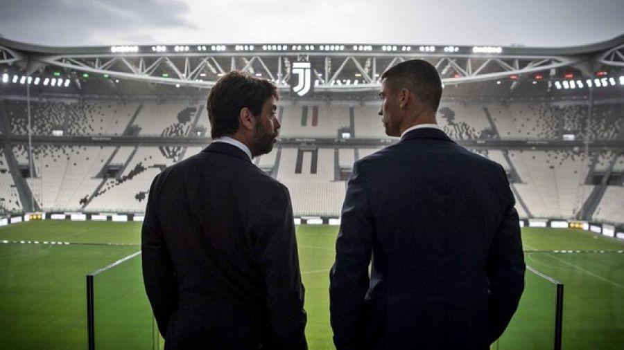 Ronaldo con Agnelli