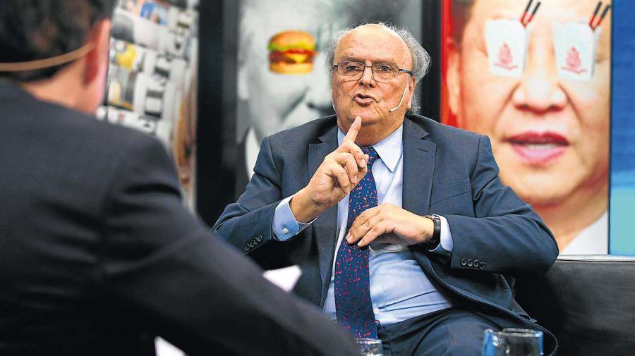 José De Mendiguren, en la entrevista con Jorge Fontevecchia.