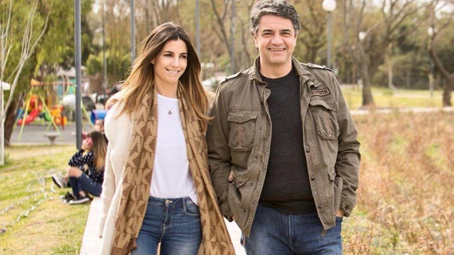 María Belén Ludueña y Jorge Macri festejaron su segundo aniversario de novios en