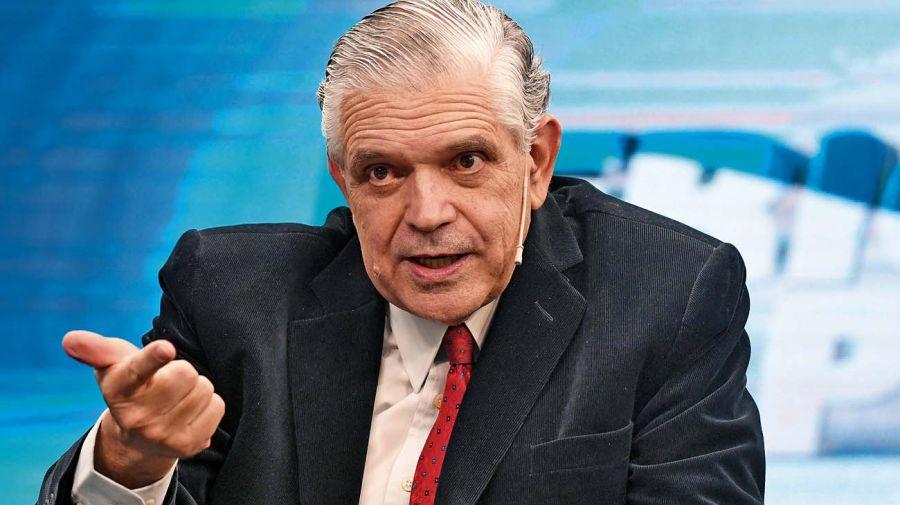 Ricardo López Murphy, en la entrevista con Jorge Fontevecchia.