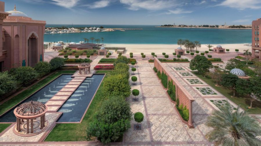 Emirates Palace de Abu Dhabi (Mandarín Oriental) 20200810