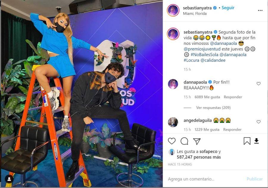 La desgarradora reacción de Tini Stoessel luego de que Sebastián Yatra y Danna Paola se encontraran en Miami