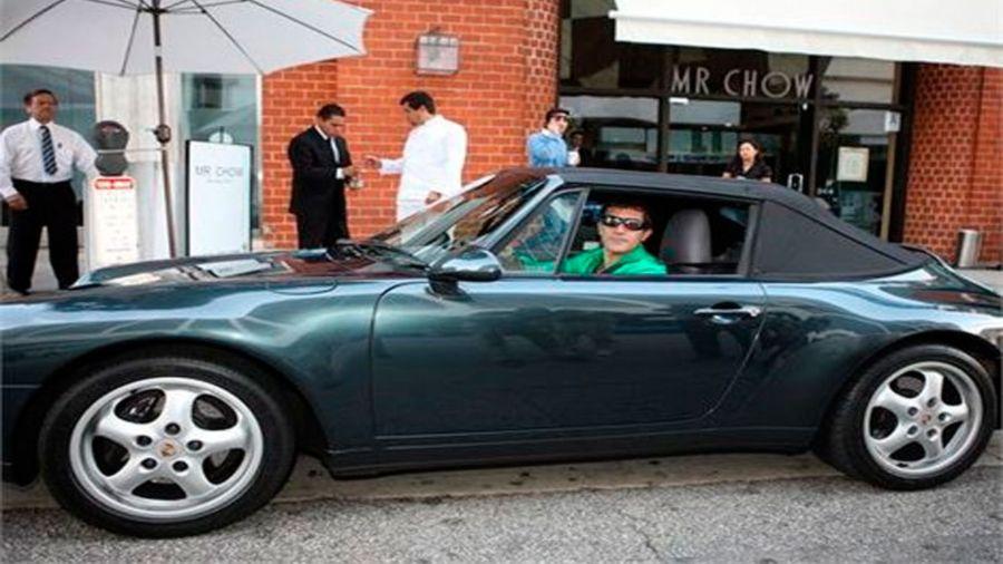 Los autos de Antonio Banderas