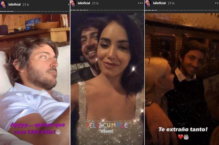 Lali Espósito le hizo una dedicatoria a su novio por su cumpleaños