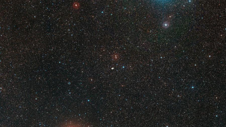 NGC 2899. La nebulosa conocida como la Mariposa Espacial.