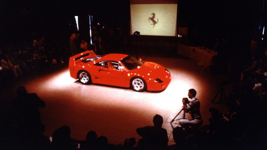 Ferrari F40, la última joya de don Enzo