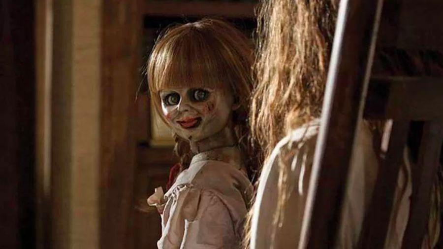 La muñeca Annabelle, inspiración para su homónima de la película.
