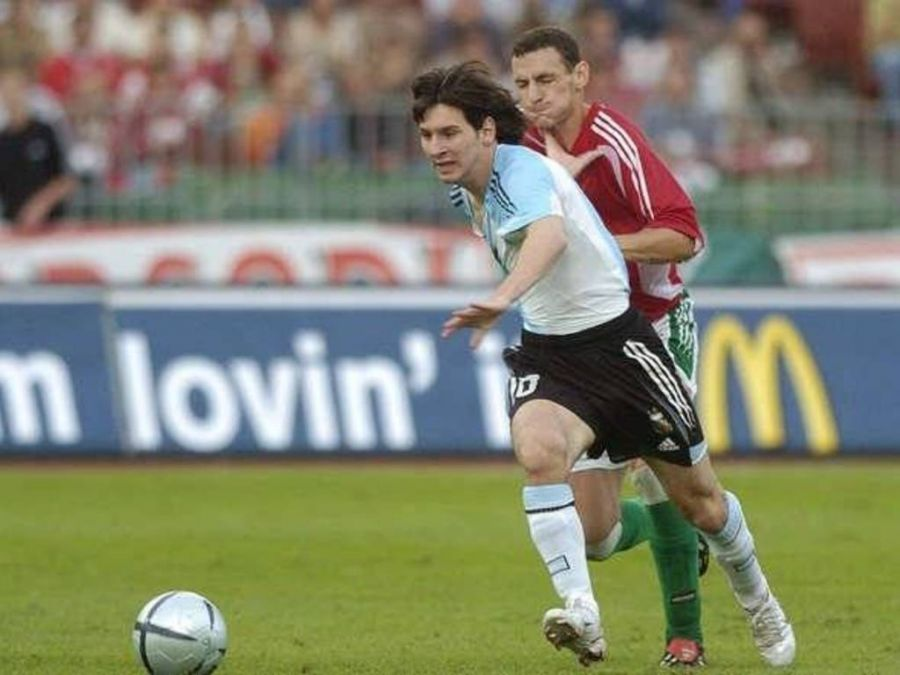Messi Hungría