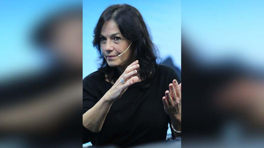 Vilma Ibarra, en la entrevista con Jorge Fontevecchia.