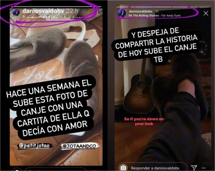 Daniel Osvaldo, ¿Lejos de Jimena Barón y muy cerca de Julieta Ortega?