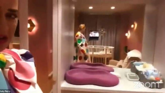 Katy Perry mostró el cuarto de su bebé a días de su nacimiento