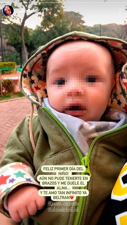 El triste mensaje de Lali Espósito por no poder conocer a su sobrino