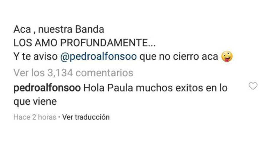 La respuesta de Pedro Alfonso