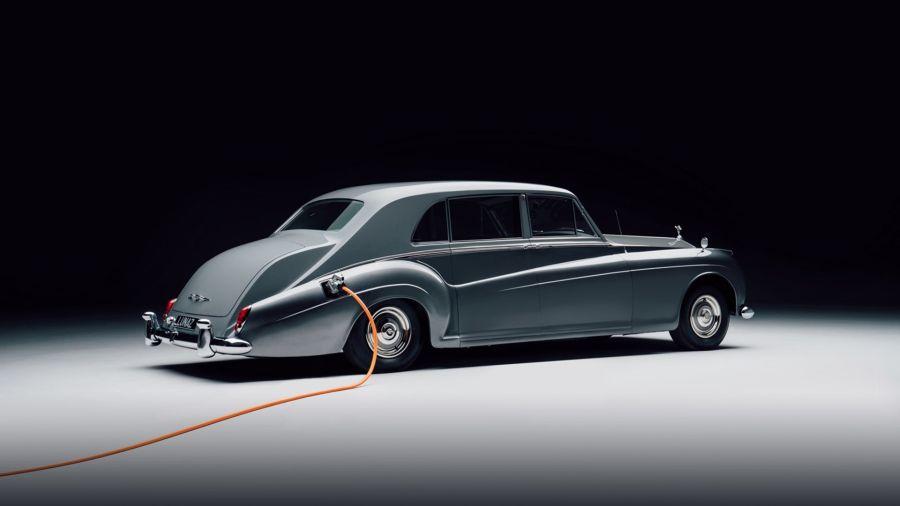 Así es el primer Rolls-Royce (clásico) eléctrico