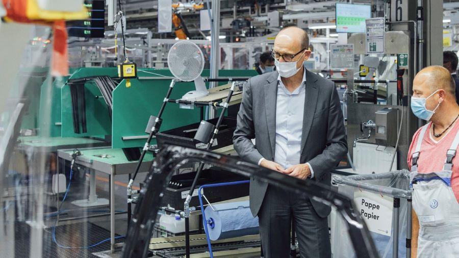 ID.4: Volkswagen comenzó a fabricar su nuevo SUV compacto eléctrico