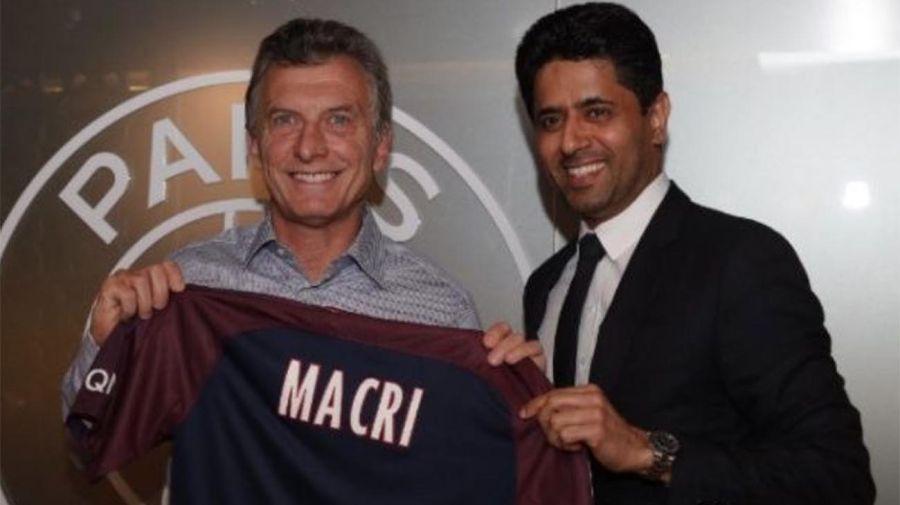 PSG recibió a Macri 20200824