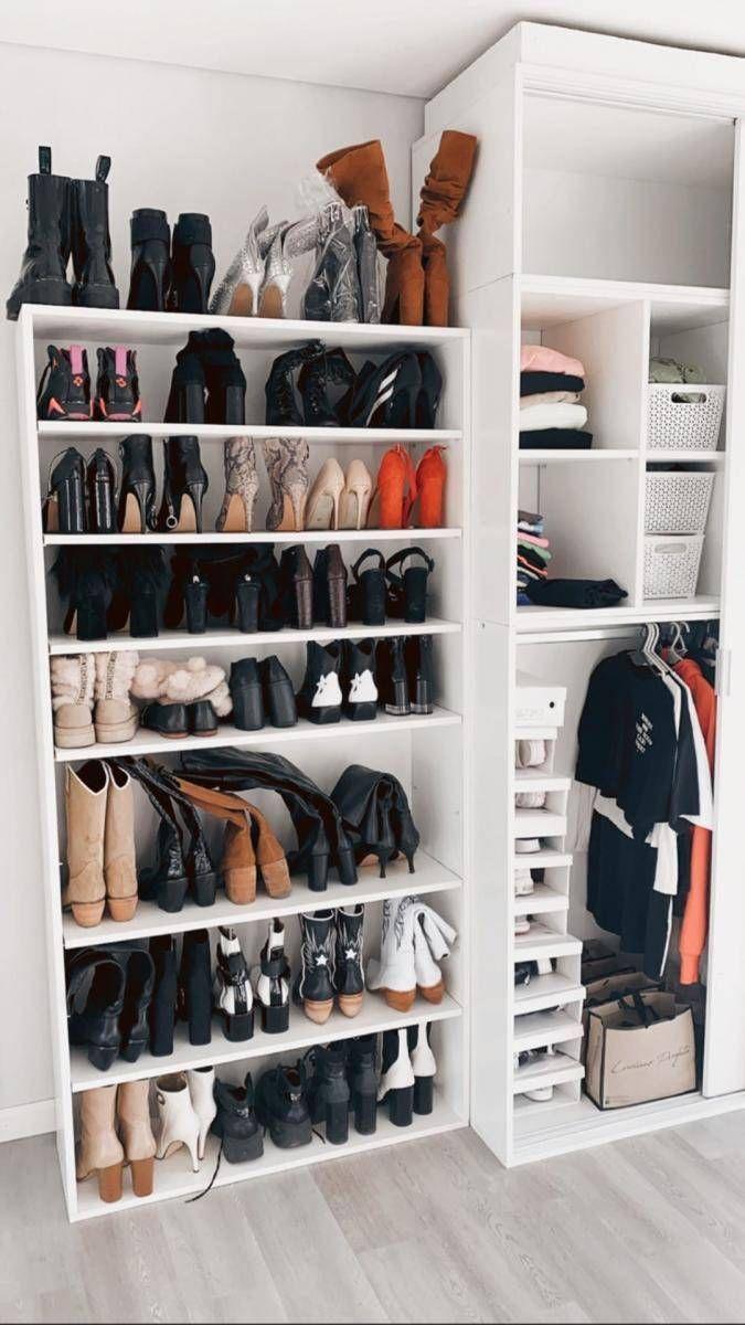 Romina Malaspina se mudó, mostró su vestidor y su exclusiva colección de botas