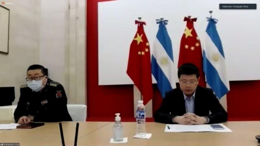 Agustin Rossi Defensa China 20200825
