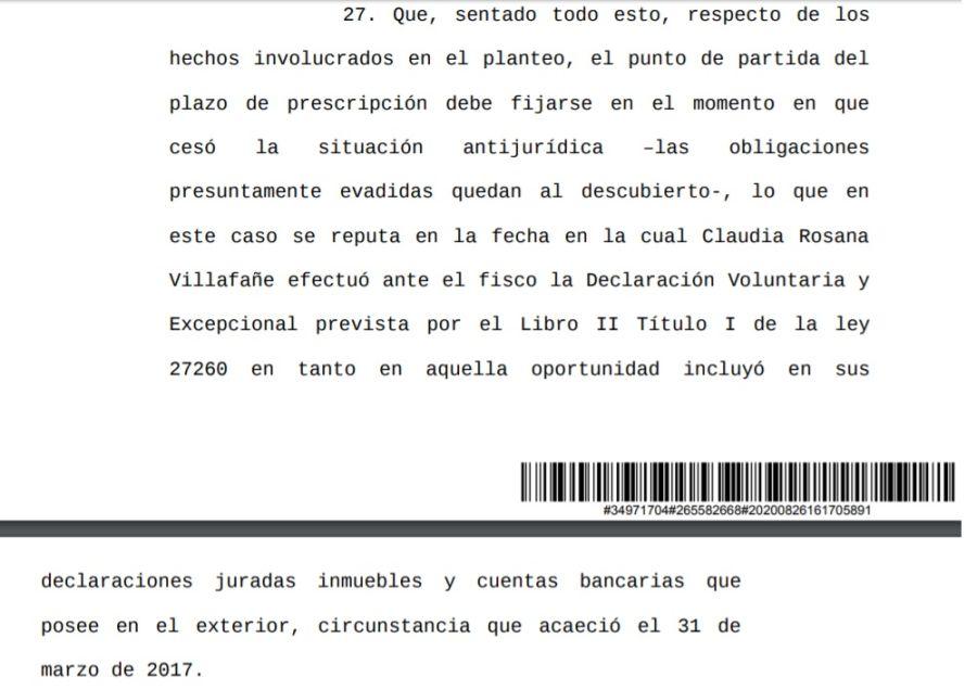 Fallo Judicial Causa Maradona-Villafañe