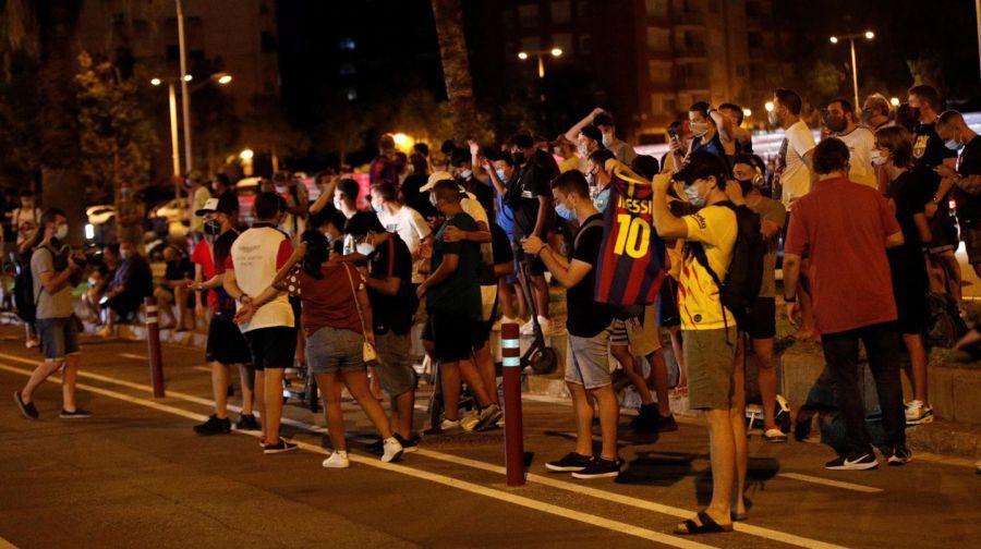 Hinchas Camp Nou