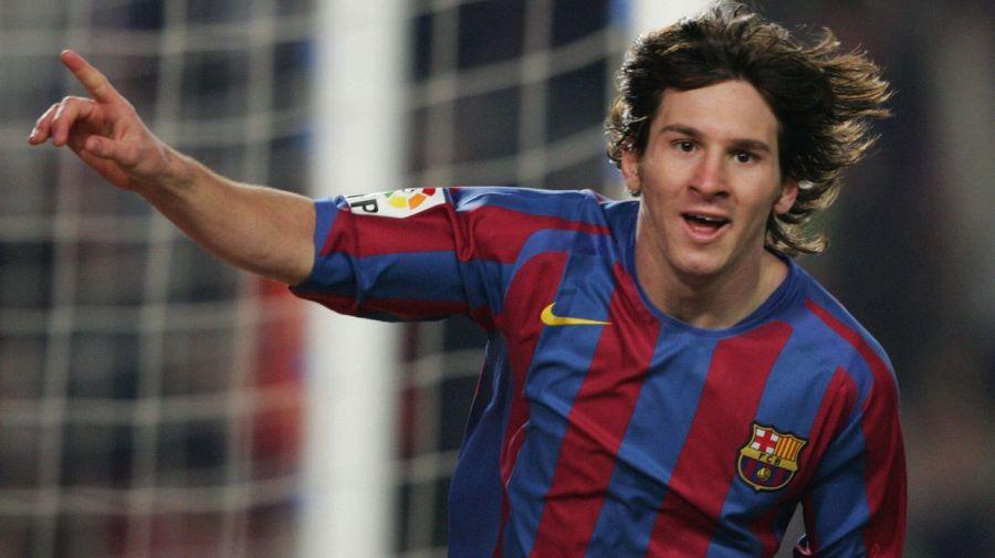 Messi en el Barcelona