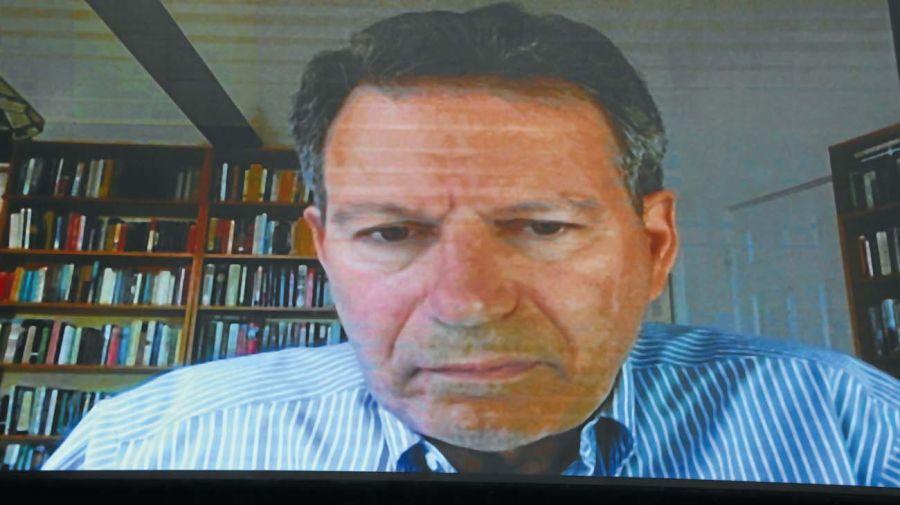 Robert Kaplan, en la entrevista con Jorge Fontevecchia.