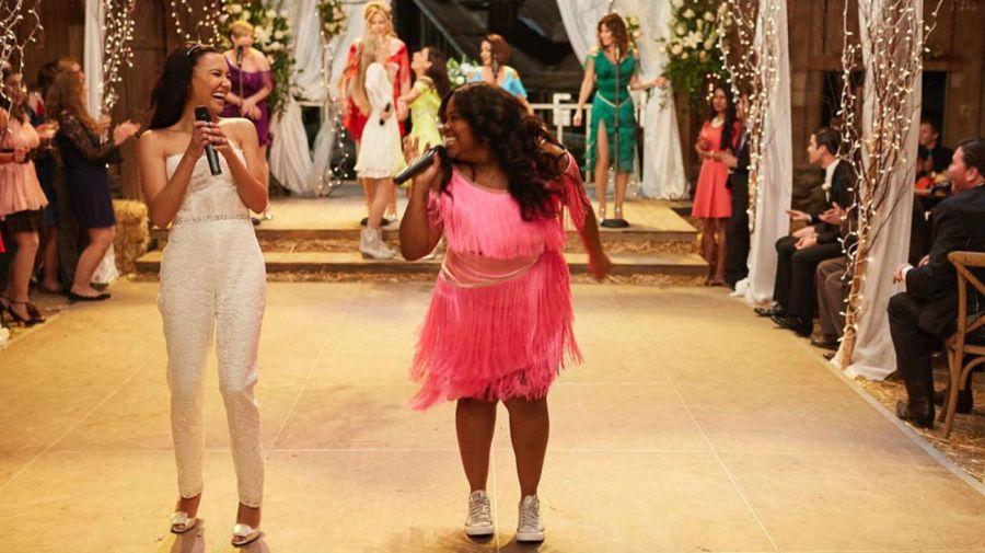 Naya Rivera y Amber Riley