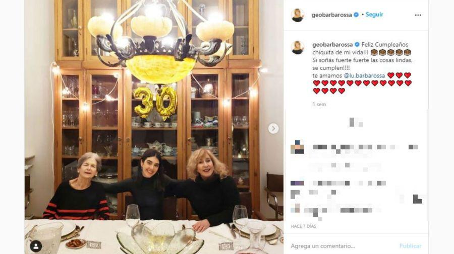 Susana Roig, Lucía y Georgina