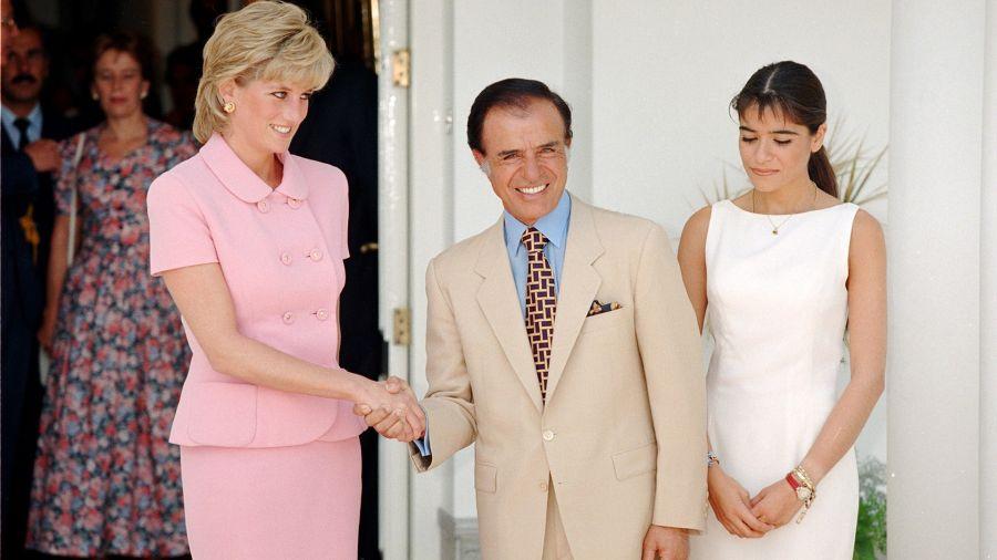 Diana de Gales, Carlos y Zulemita Menem