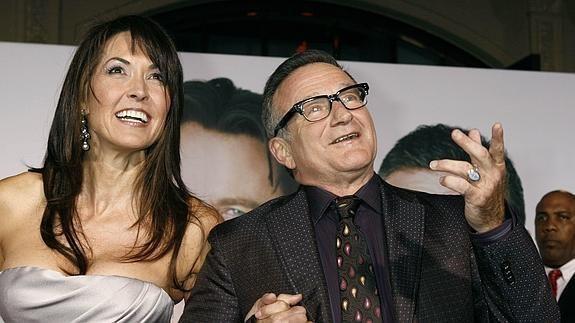 La viuda de Robin Williams relató cómo fue la triste muerte del actor