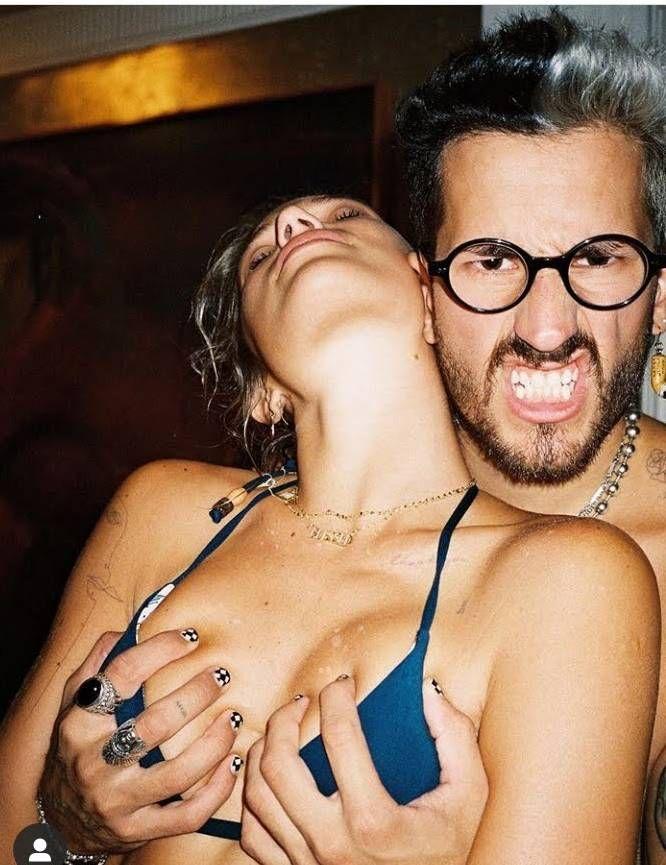 Ricky Montaner subió una foto hot con Stefi Roitman que fue censurada