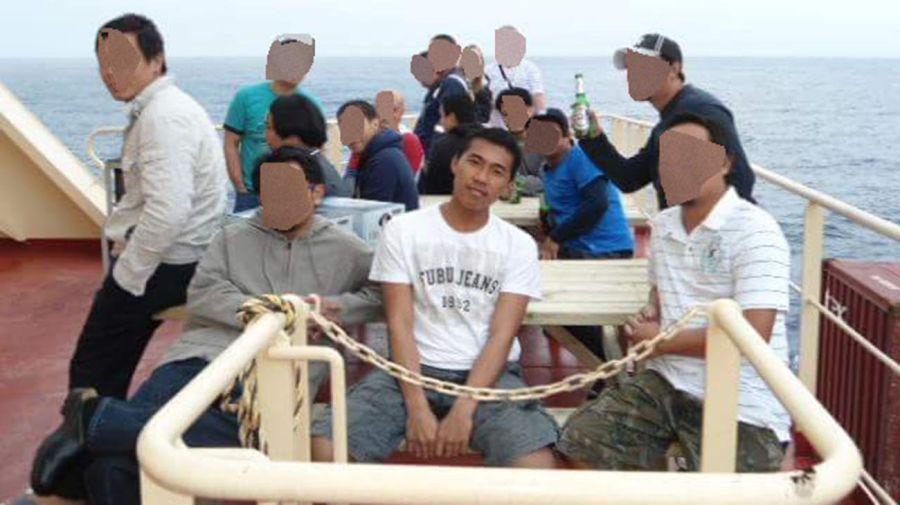 marinero filipino Longno. 20200904