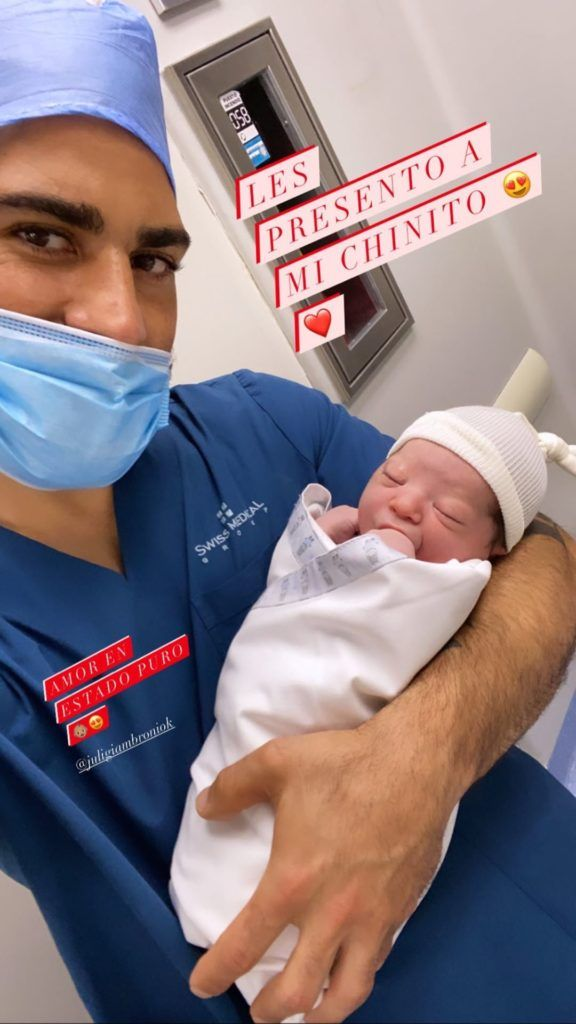 Nació Dante, el hijo de Juliana Giambroni, ex de Mariano Martínez